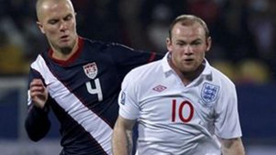 Wayne Rooney, la estrella inglesa.