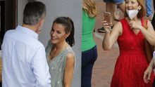 FOTOGALERÍA | Felipe VI y doña Letizia, de paseo por Las Canteras