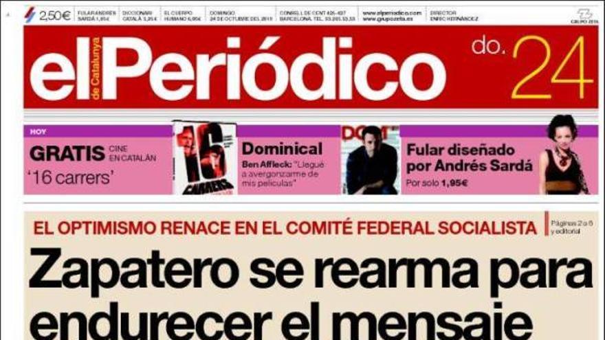 De las portadas del día (24/10/2010) #11
