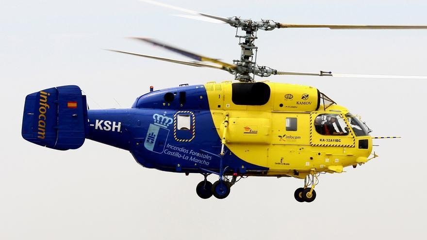 Helicóptero Kamov, en una imagen de archivo