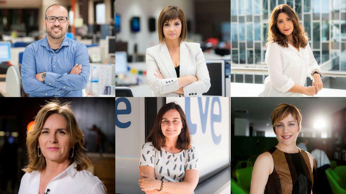 Rafa Lara, Marta Ribas, Sonia Urbano, Anna Cler, Laura Folguera y Marta Càceres