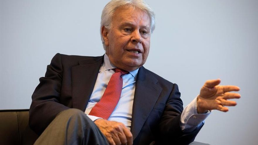 Expresidente del Gobierno español Felipe González en Sao Paulo