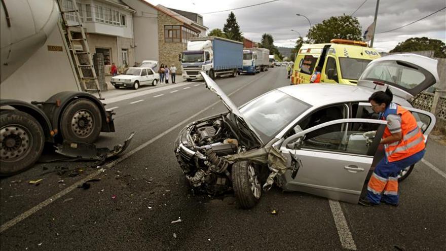 Cada dos días muere en España una persona en accidente laboral de tráfico