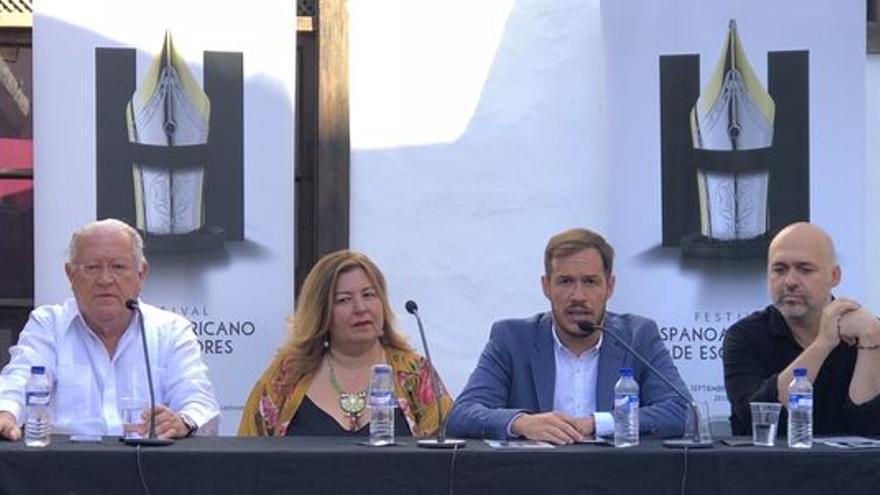 Imagen de archivo de la presentación del II Festival Hispanoamericano de Escritores.