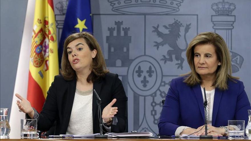 S. de Santamaría pide serenidad y prudencia a la Junta de Castilla y León