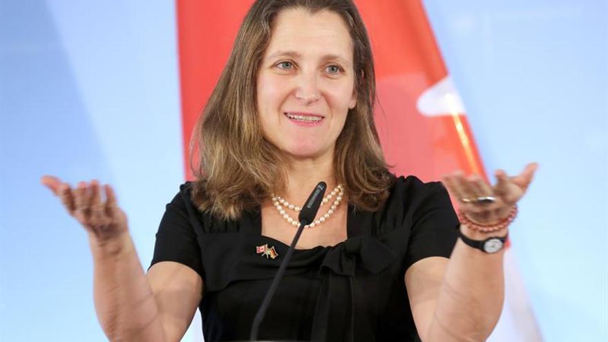 Canadá dice que la renegociación del TLCAN continuará durante el verano