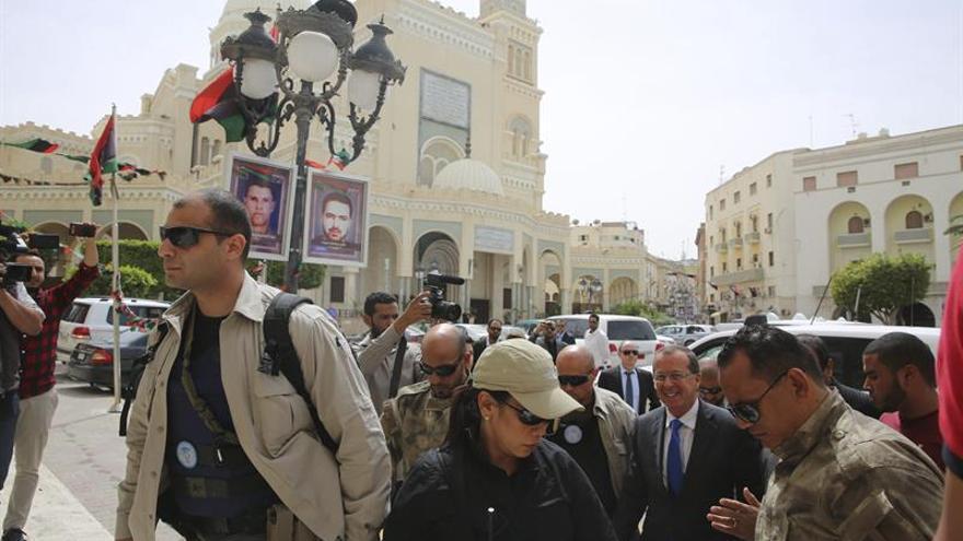 Las protestas por la presencia militar francesa en Libia se vuelven contra el Gobierno de unidad