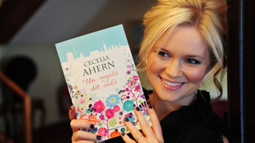 La autora Cecelia Ahern