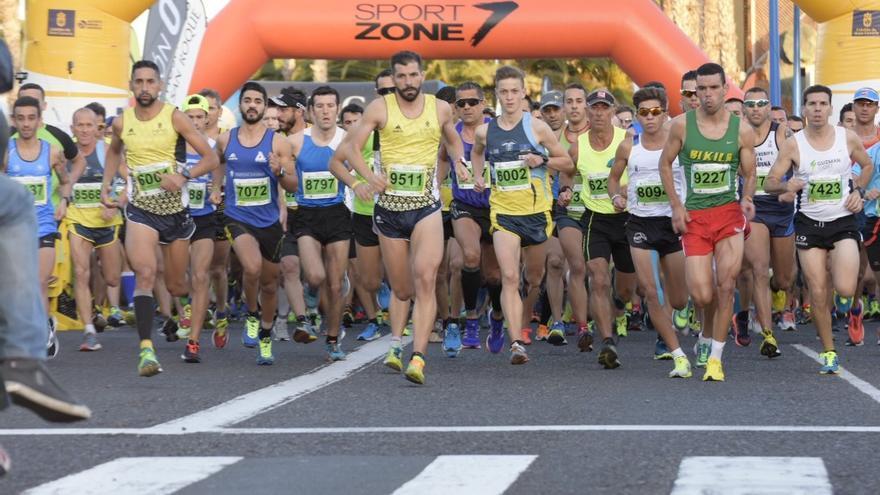 Imagen de la Gran Canaria Maratón del año pasado.