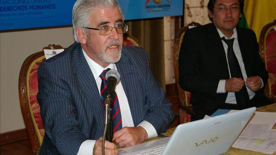 Jueces españoles y bolivianos destacan valor de independencia y capacitación