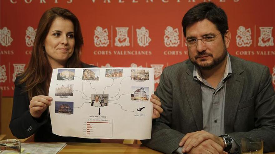 La Generalitat dice que ahora no se pagan viajes como los de 2005 del Palau de Les Arts