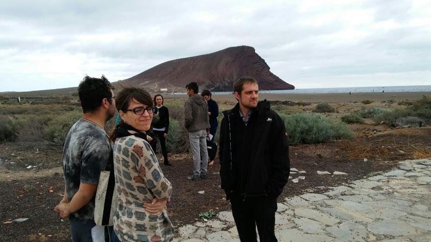 Marcellesi visita los terrenos en La Tejita donde está prevista la construcción de un hotel