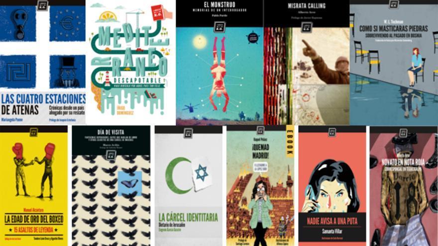 Sorteo de 11 libros de la editorial Libros del K.O.