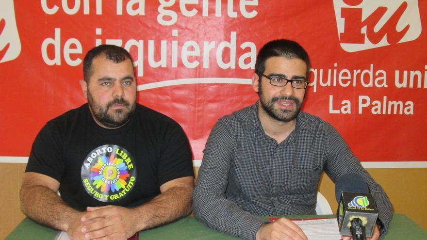 Jesús Besay y Felipe Ramos han analizado este viernes la situación de la Isla. Foto: LUZ RODRÍGUEZ