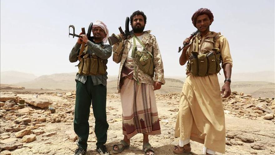 Un avión F16 de Marruecos alcanzado en los combates y desaparecido en Yemen