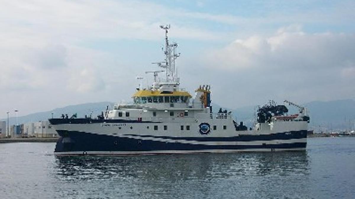 El buque de investigación Ramón Margalef