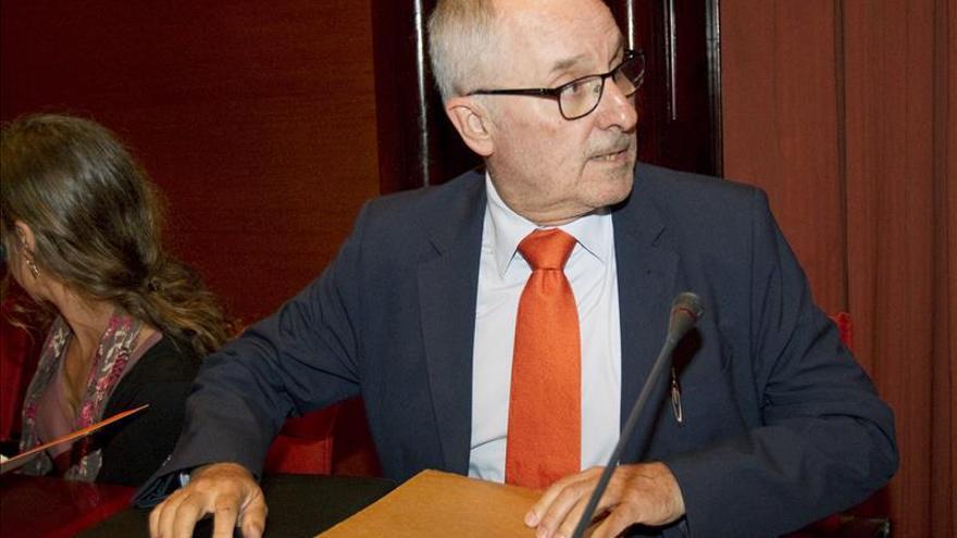 El Síndic de Greuges, Rafael Ribó, ha presentado hoy el informe en el Parlamento catalán.