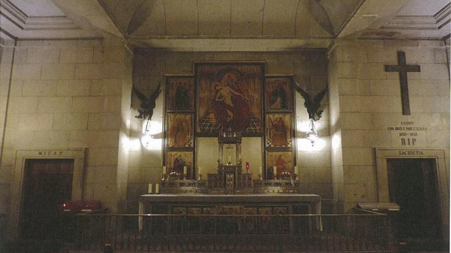 Capilla del Santísimo del Valle de los Caídos.