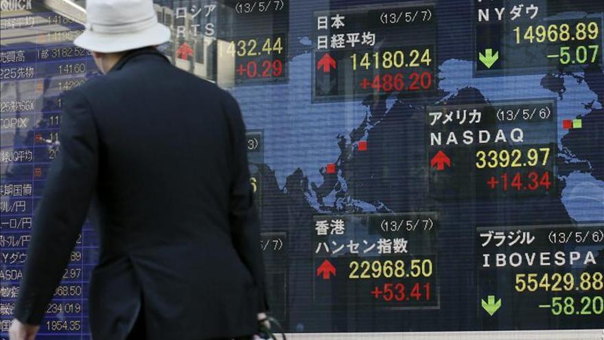 El Nikkei sube 259,23 puntos, el 1,83 por ciento, hasta 14.450,71 unidades