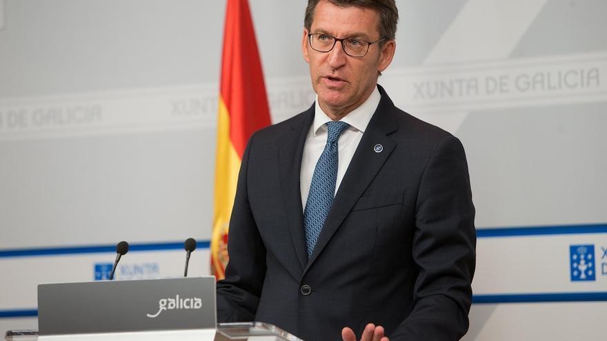 """Feijóo responde a Page que es en el PSOE donde """"un presidente autonómico quiere sustituir"""" al líder"""