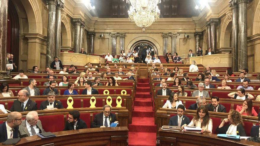 El PSC lleva una resolución al Parlament contra el Consell de la República y la Assemblea d'Electes