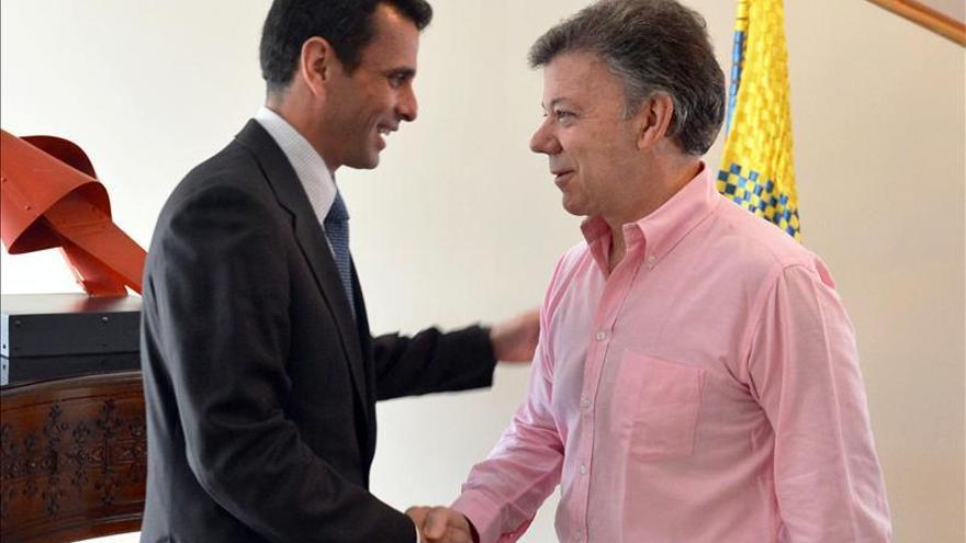 Capriles alertará a organismos internacionales de la situación en Venezuela
