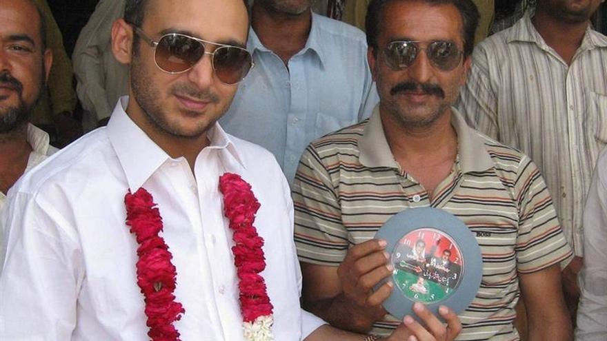 Liberado el hijo de ex primer ministro paquistaní secuestrado hace tres años