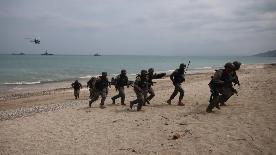 """Con un desembarco en playa """"hostil"""" concluyen las maniobras de Unitas en Ecuador"""