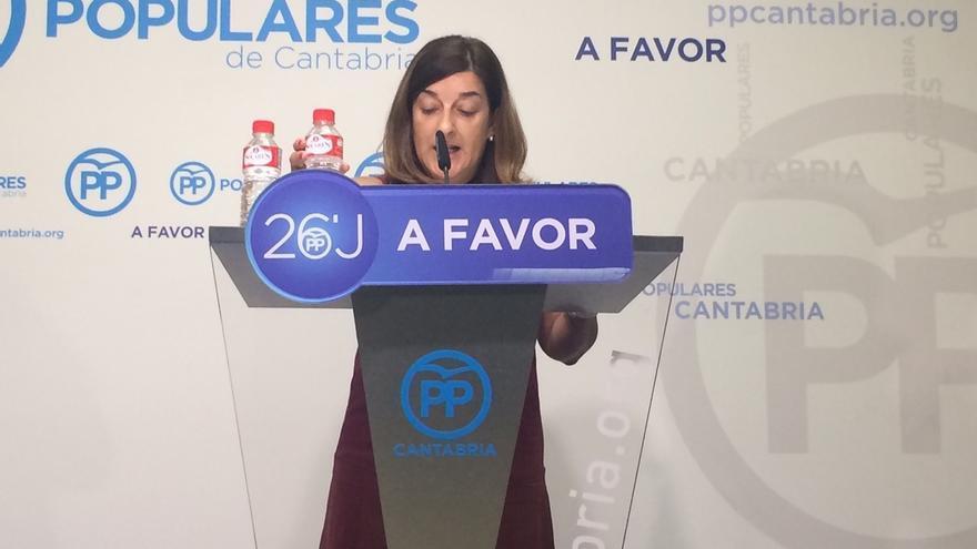 """El PP vincula el último informe sobre Valdecilla a estrategia de """"mentira"""" del bipartito para """"combatir"""" el contrato"""