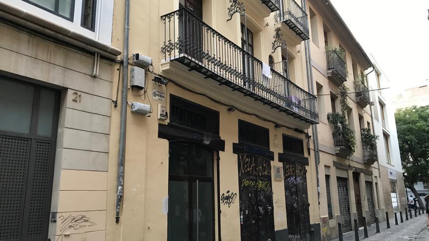 La antigua sede de la Fundación Vives está ahora ocupada por apartamentos turísticos