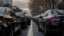 """Los conductores de VTC convocan una concentración mañana en Madrid contra el """"acoso"""" de los taxistas"""