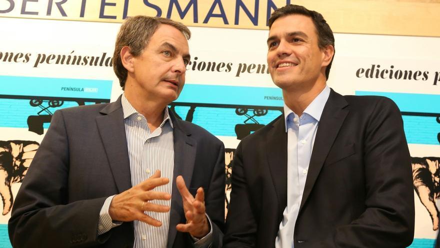 Zapatero y Pedro Sánchez compartirán mitin por primera vez el próximo día 10 en Gijón