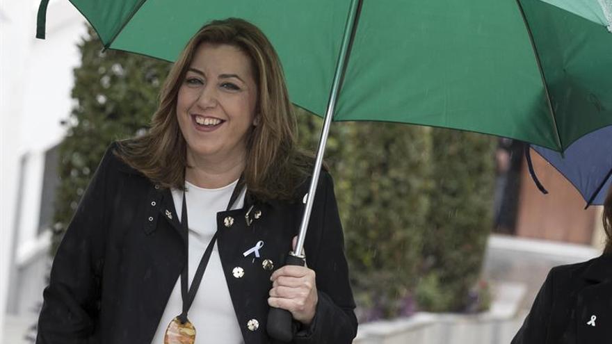 Susana Díaz participa mañana en dos actos en Madrid tras su viaje a Bruselas