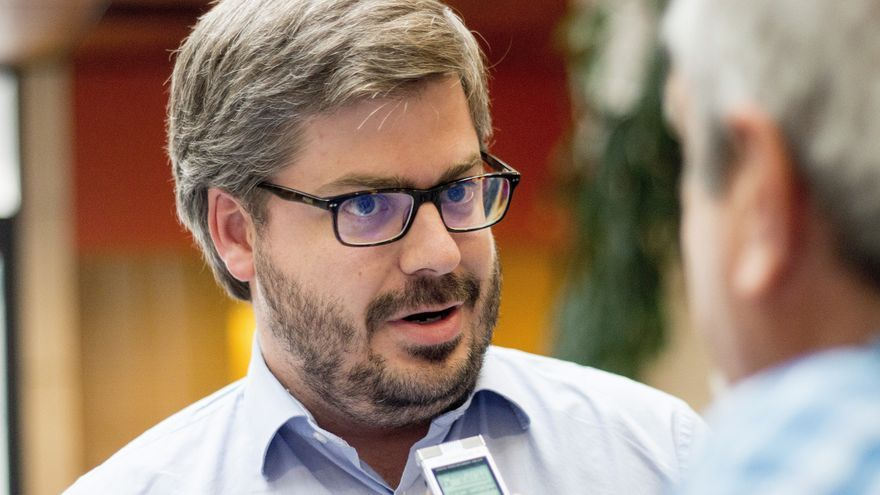 El secretario de Organización de Ciudadanos, Fran Hervías. EFE/ROMÁN G. AGUILERA/Archivo