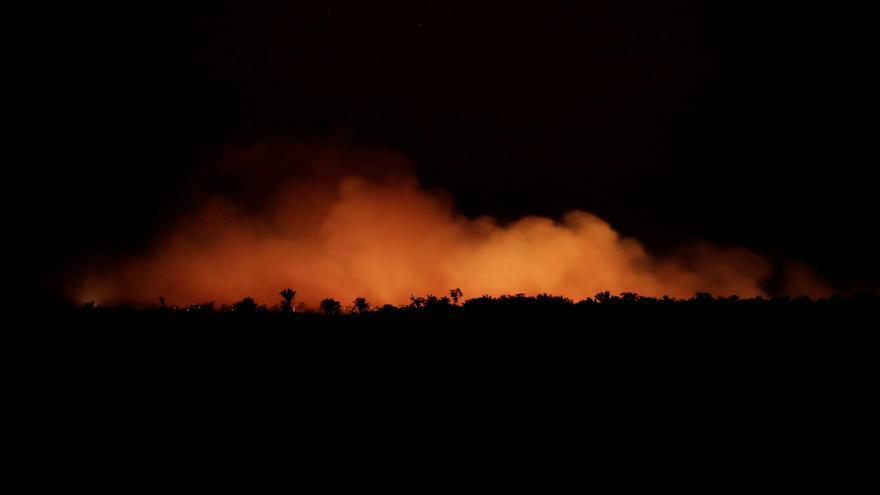Las llamas arrasan con parte del Amazonas en Brasil, 17 de agosto