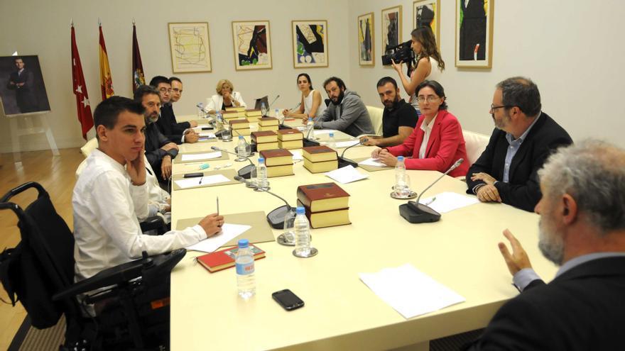 Primera Junta de Gobierno de Manuela Carmena, el 13 de junio de 2015. / madrid.es