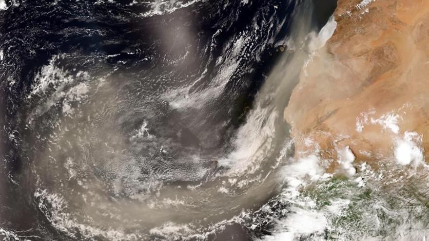 Canarias, con un episodio de calima procedente de África