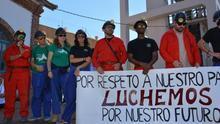 """""""¡Del pozo se sale!"""": abandonan la mina los 11 encerrados que han movilizado a toda la comarca de Almadén"""