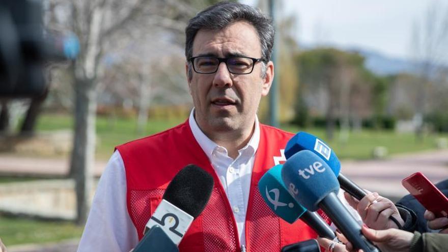 El responsable de Emergencias de Cruz Roja, Íñigo Vila.