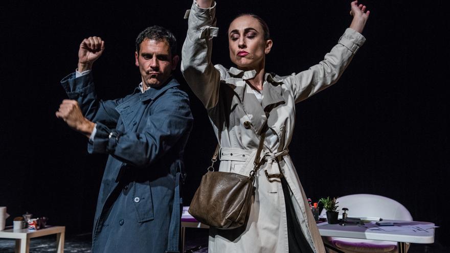 `Workajolics´ de la compañía Teatro Pequeño en el Festival DeCorrido / Pepe H
