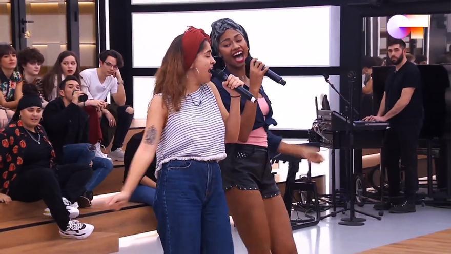 Anaju y Nia cantan 'Guantanamera' en 'OT 2020'