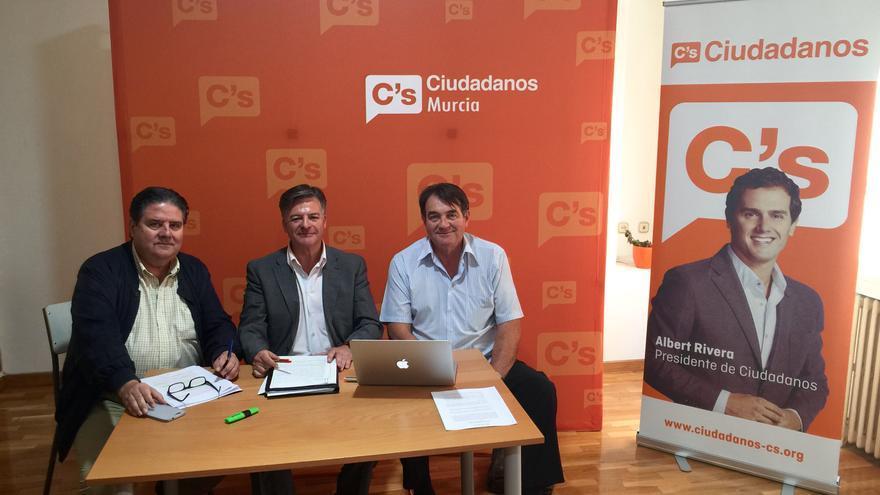 Ciudadanos ha presentado su programa sobre agricultura y agua para la Región de Murcia