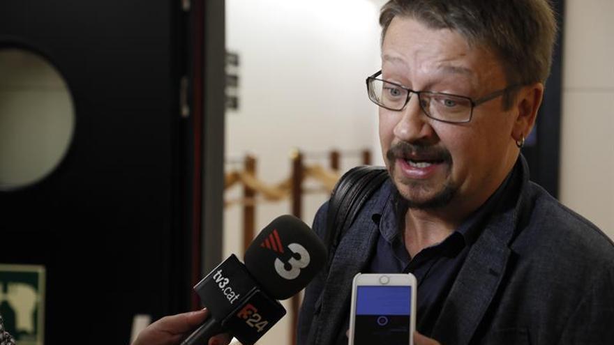 """Domènech apuesta por una """"nueva mayoría"""" centrada en el eje social en el 21D"""