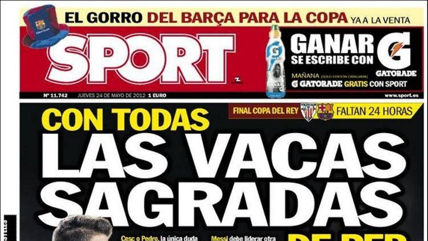 De las portadas del día (24/05/2012) #15