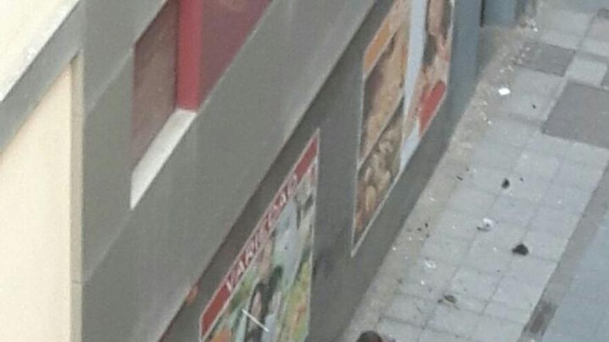 La Policía explota una mochila sospechosa abandonada en la capital grancanaria