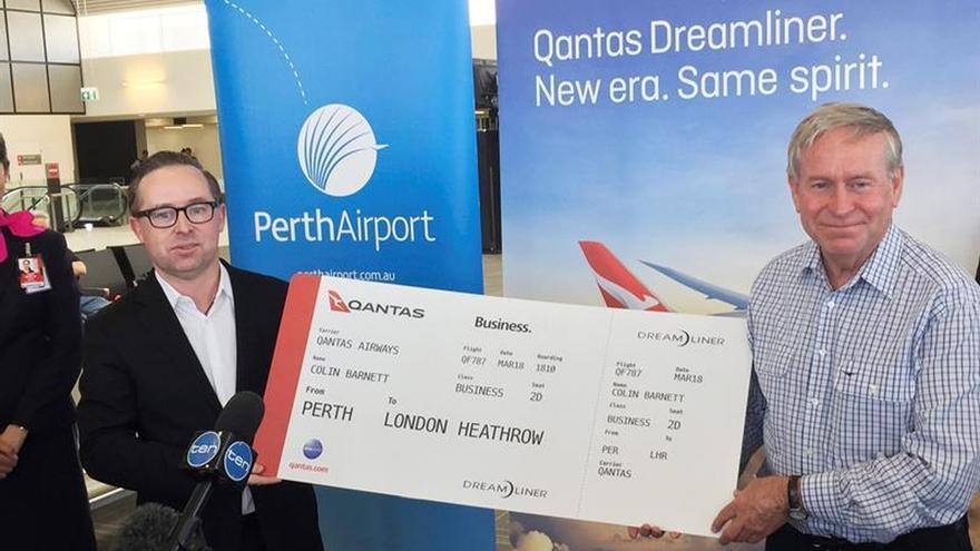 La aerolínea Qantas conectará Australia y Europa sin escalas en 2018