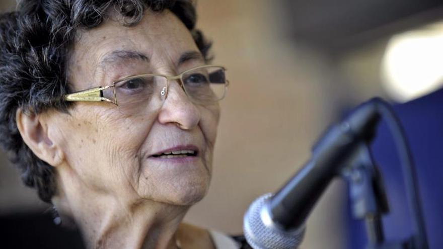 Fallece la poeta alicantina Francisca Aguirre, Premio Nacional de Letras 2018
