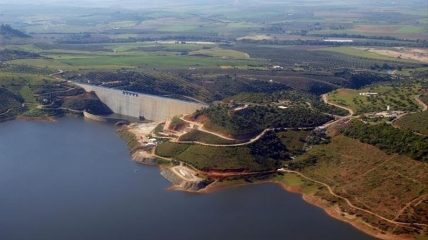 Los pantanos andaluces se encuentran al 35,4%, más de un 13% por debajo de los niveles de hace un año