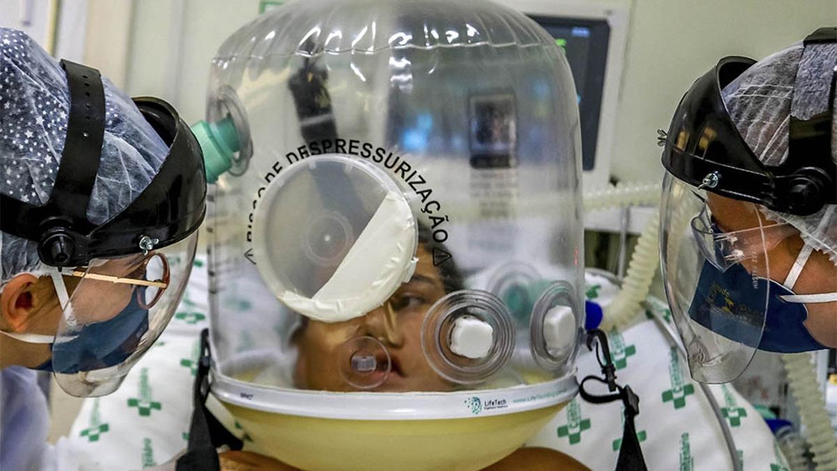 Brasil llegó a los 15.003.563 contagios desde el inicio de la Pandemia. Y acumula además 416.949 muertos.
