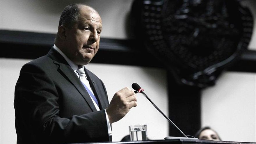 El presidente de Costa Rica exige el cumplimiento del Acuerdo de París